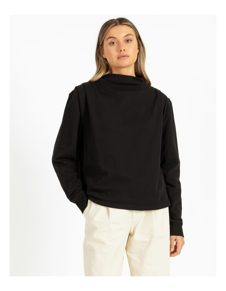 Shoulder Pleat Sweater image 1