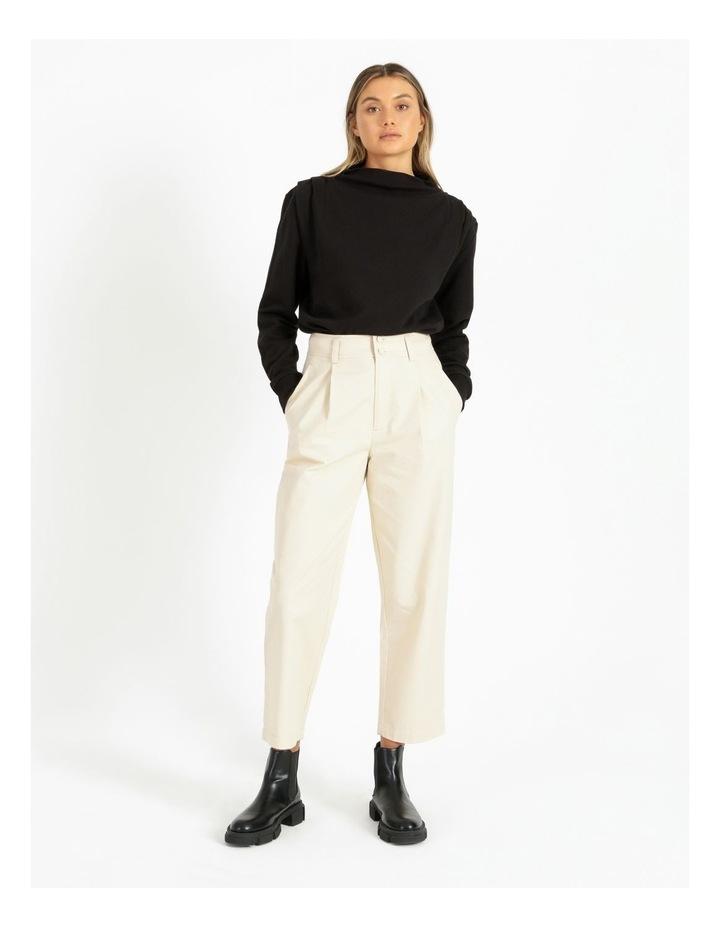 Shoulder Pleat Sweater image 2