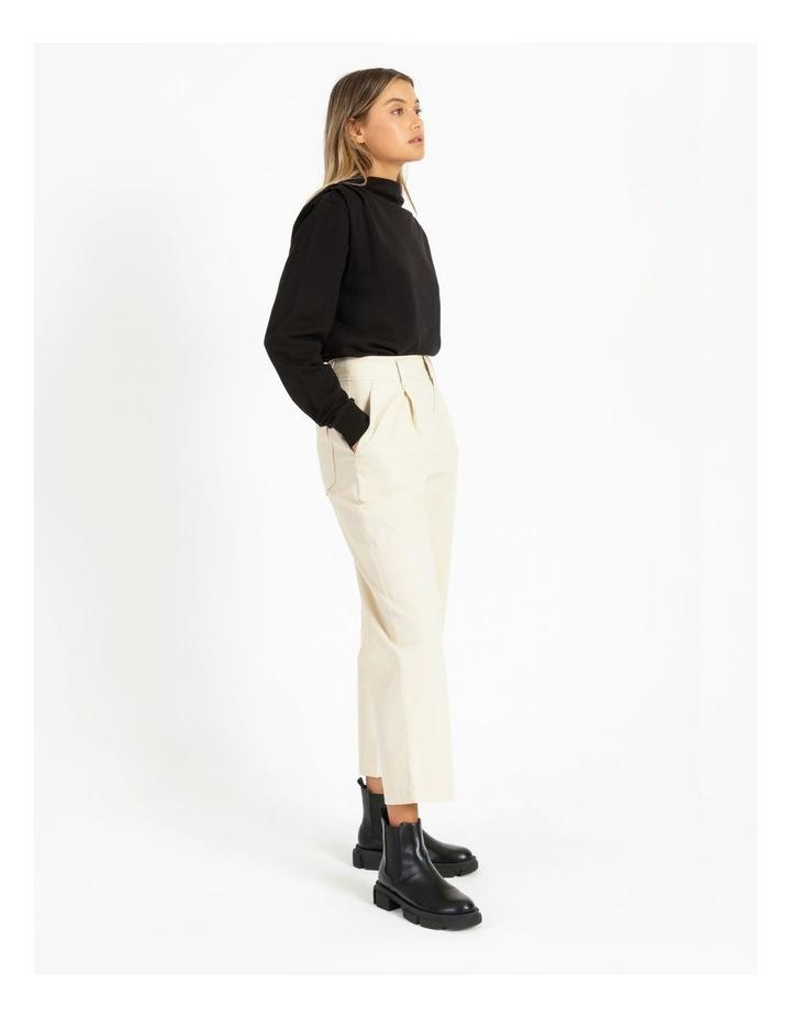 Shoulder Pleat Sweater image 3