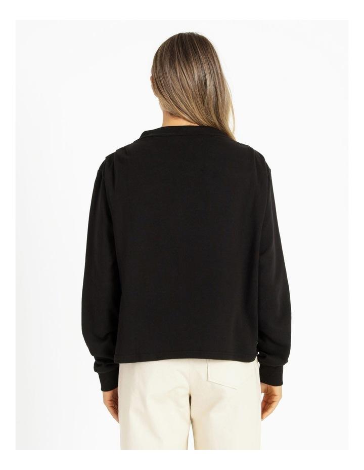 Shoulder Pleat Sweater image 4