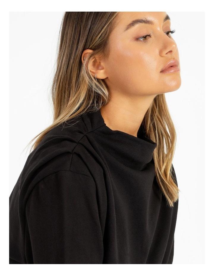 Shoulder Pleat Sweater image 5