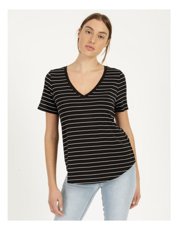 Black/White Stripe colour