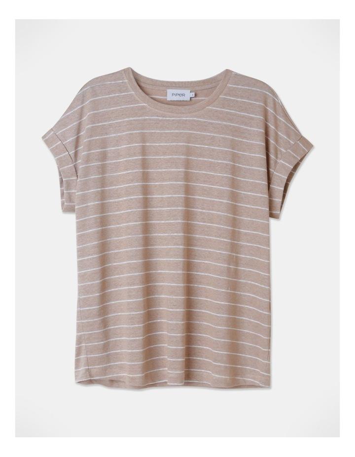 Linen Tee Stripe image 1