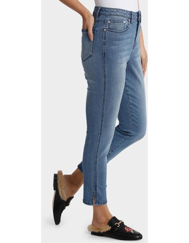 Split Hem Jean image 2