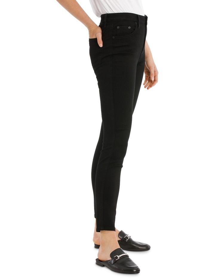 Jean High Waist with Skinny Leg image 2