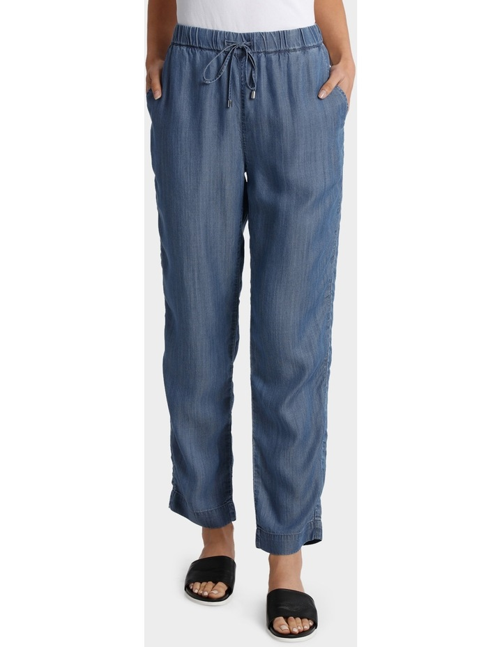 Tencel Pant with Straight Leg image 1