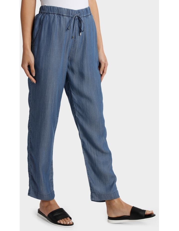 Tencel Pant with Straight Leg image 2