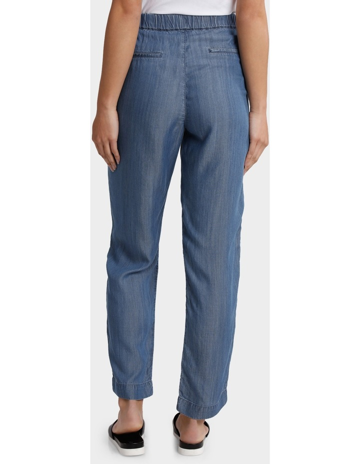 Tencel Pant with Straight Leg image 3
