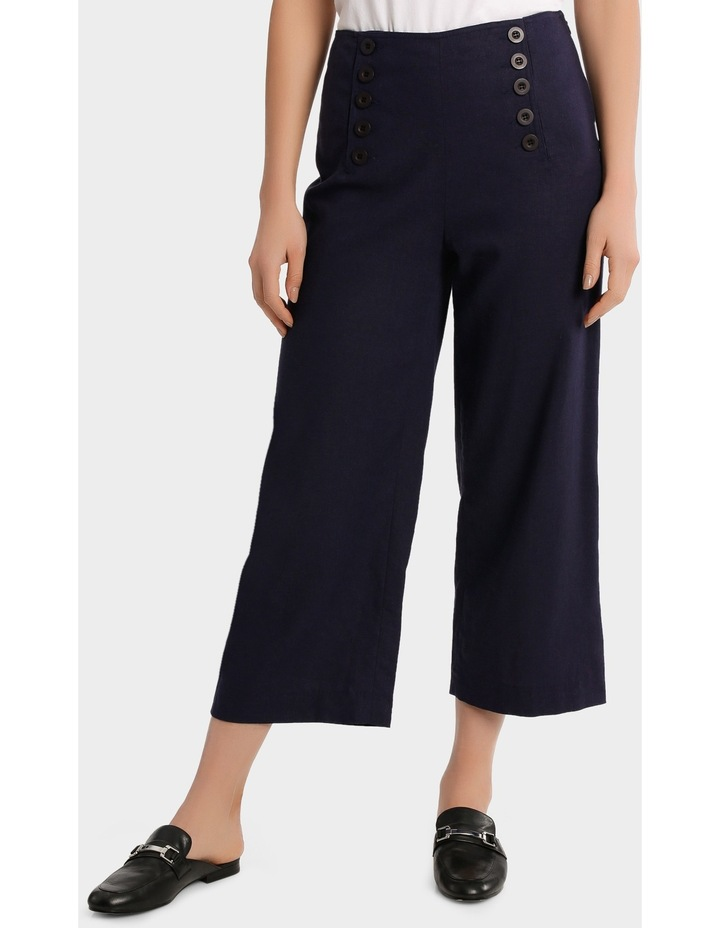 Cullotte Pant with Button detail image 1