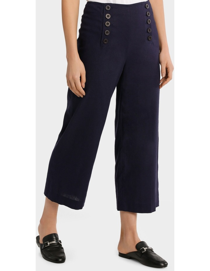 Cullotte Pant with Button detail image 2