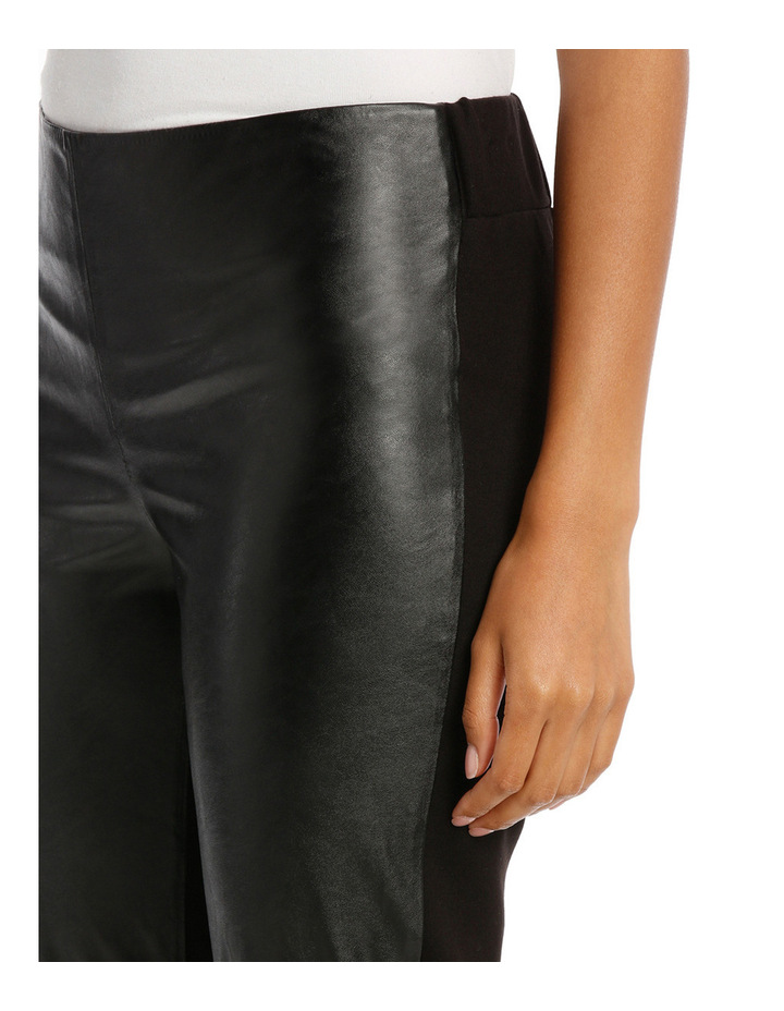Pant Ponte And Pleather image 4