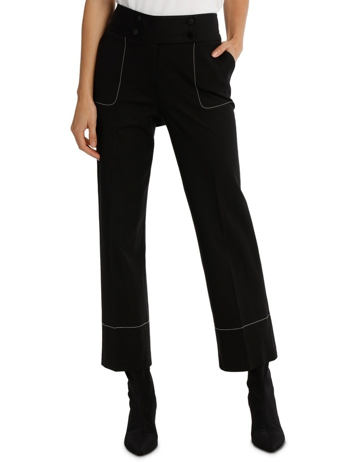 Pant With Contrast Multi  Stitiching image 1
