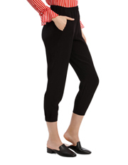Piper - Pant Slim With Elastic Front Cuff