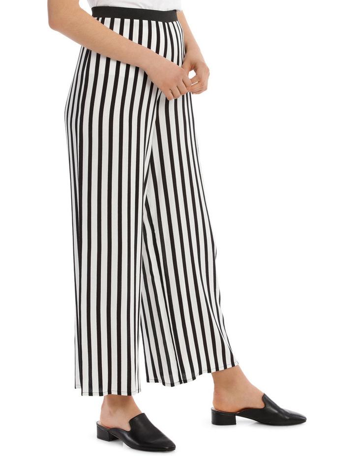 Pant Wide Stripe Elastic Waist image 2