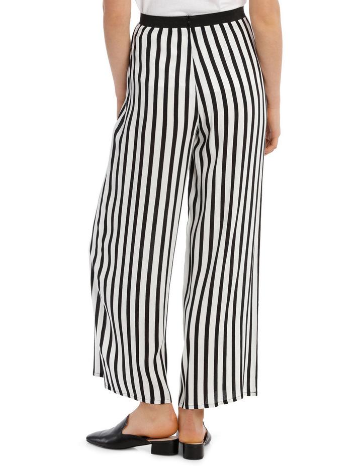 Pant Wide Stripe Elastic Waist image 3