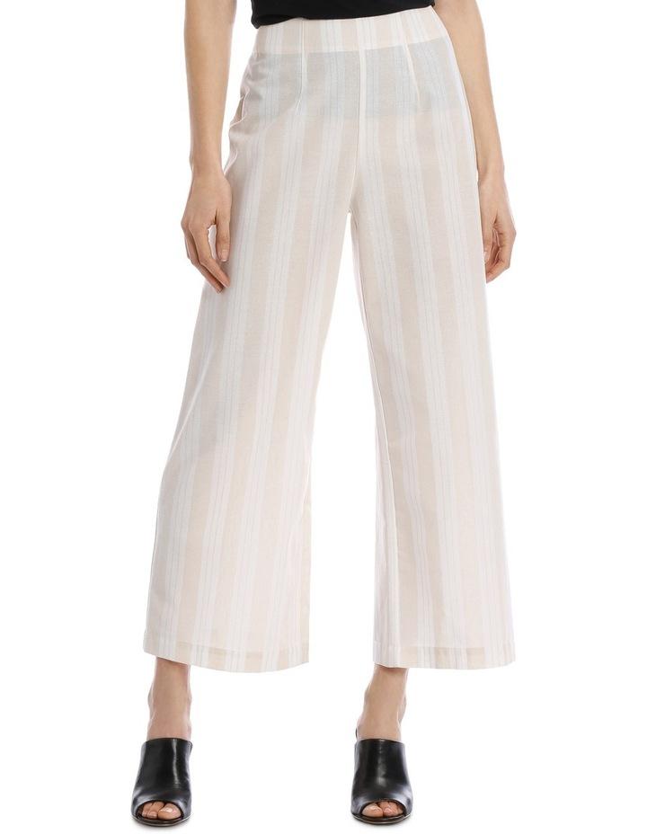 Pant Wide Leg Self Stripe Crop image 1 44ea5541e9e11