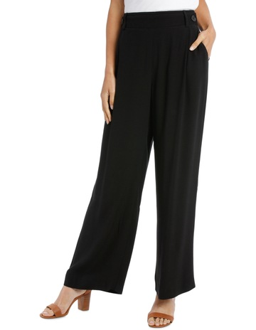 80e772e11c2a1 Piper Pant wide leg with button detail