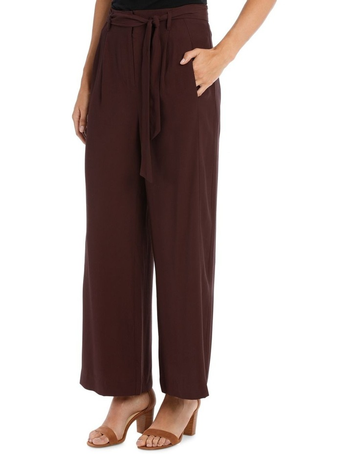 Pant Wide Leg with Belt image 2
