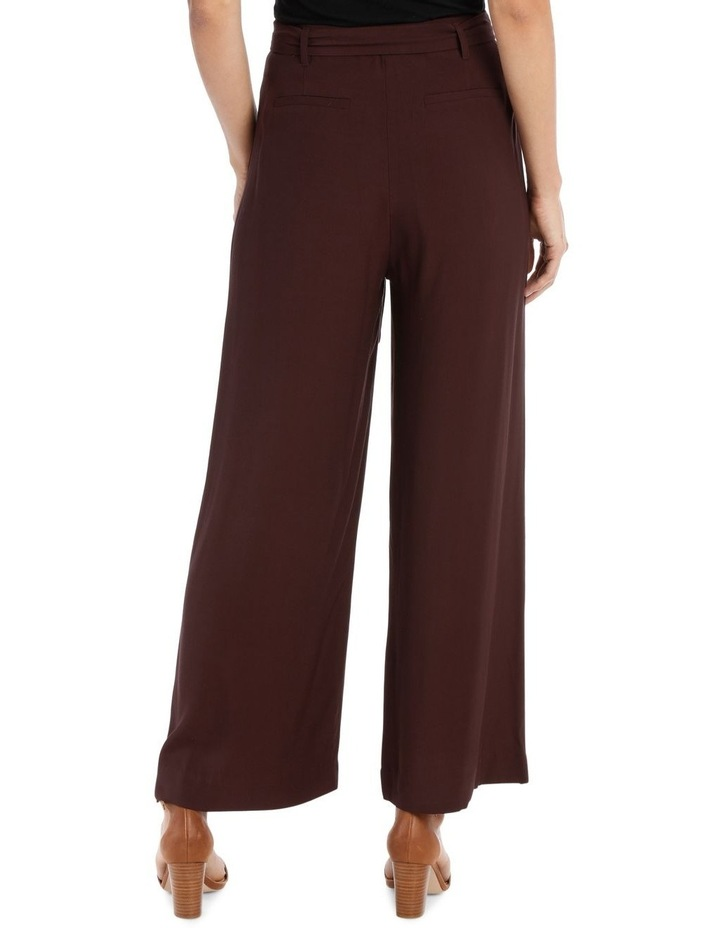 Pant Wide Leg with Belt image 3