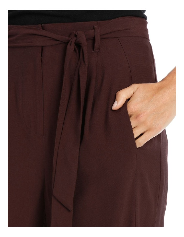 Pant Wide Leg with Belt image 4