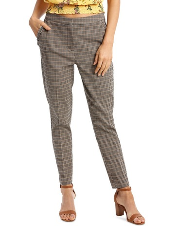 41cc0dfe793 PiperPant Check with Frill Detail on Pocket. Piper Pant Check with Frill  Detail on Pocket