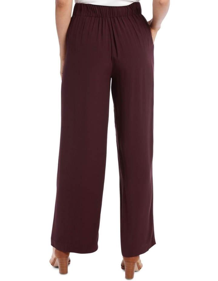 Pant wide leg with button detail image 3