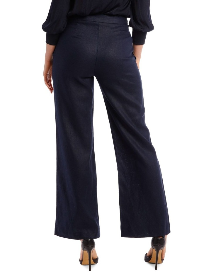 Button Pant with Wide Leg image 3