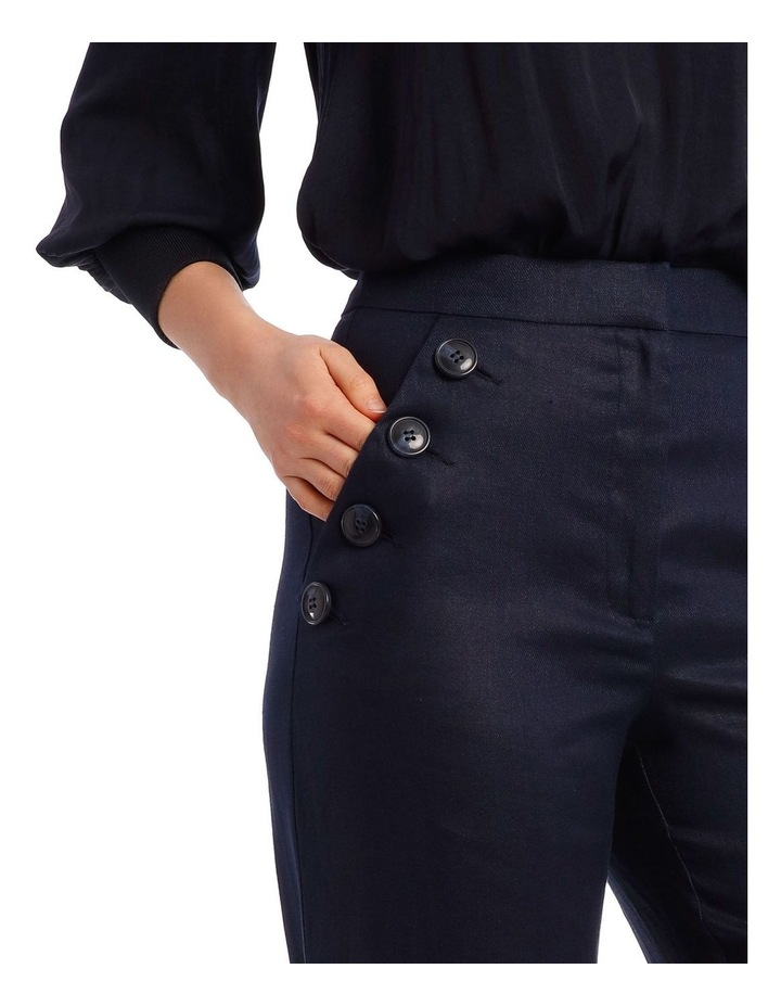 Button Pant with Wide Leg image 4
