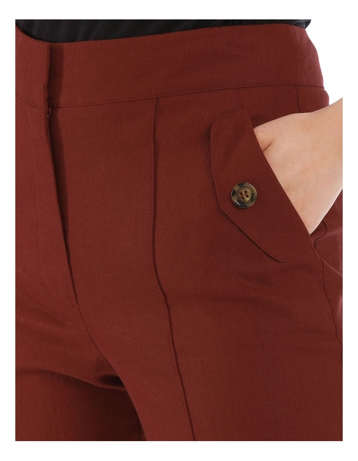 Straight Pant with Buttons image 4