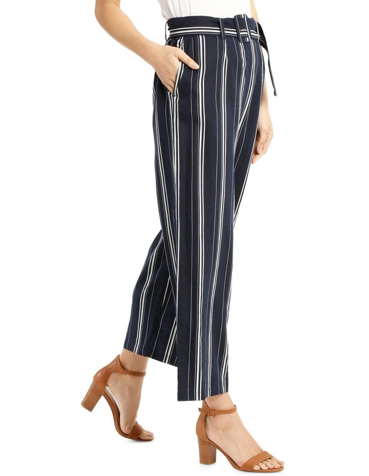Full Length Pant With Belt And Buckle image 2