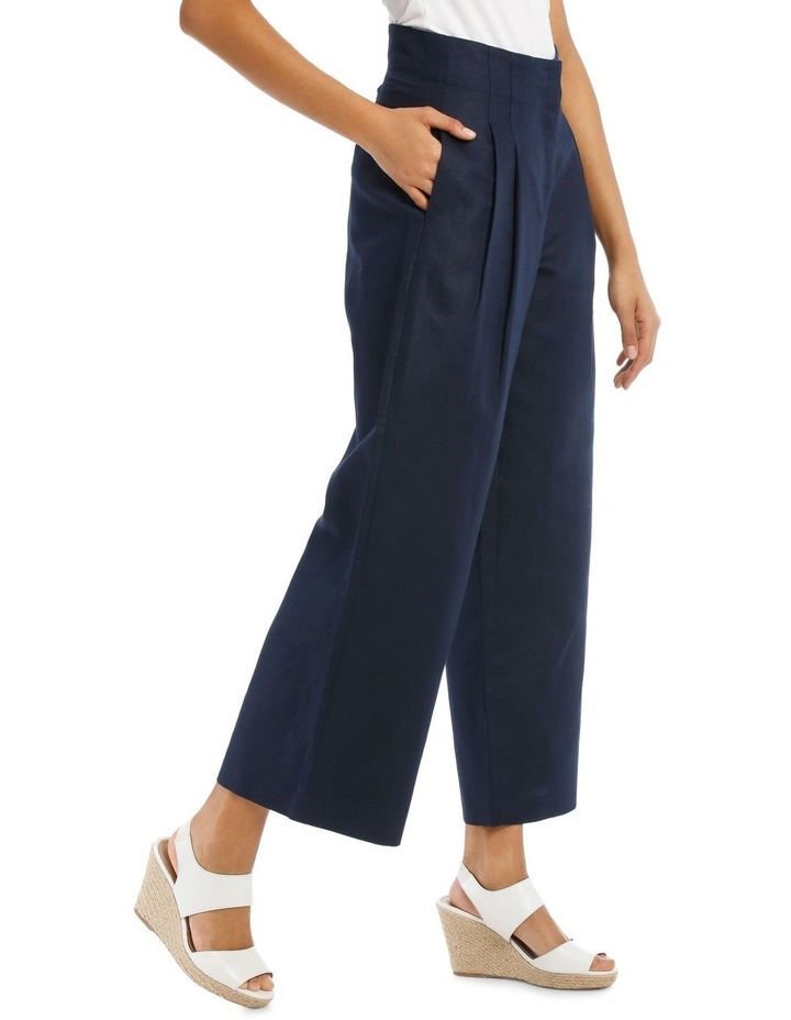 Fashion Wide Leg Pant With Pleat Front image 2