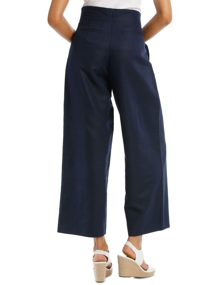Fashion Wide Leg Pant With Pleat Front image 3