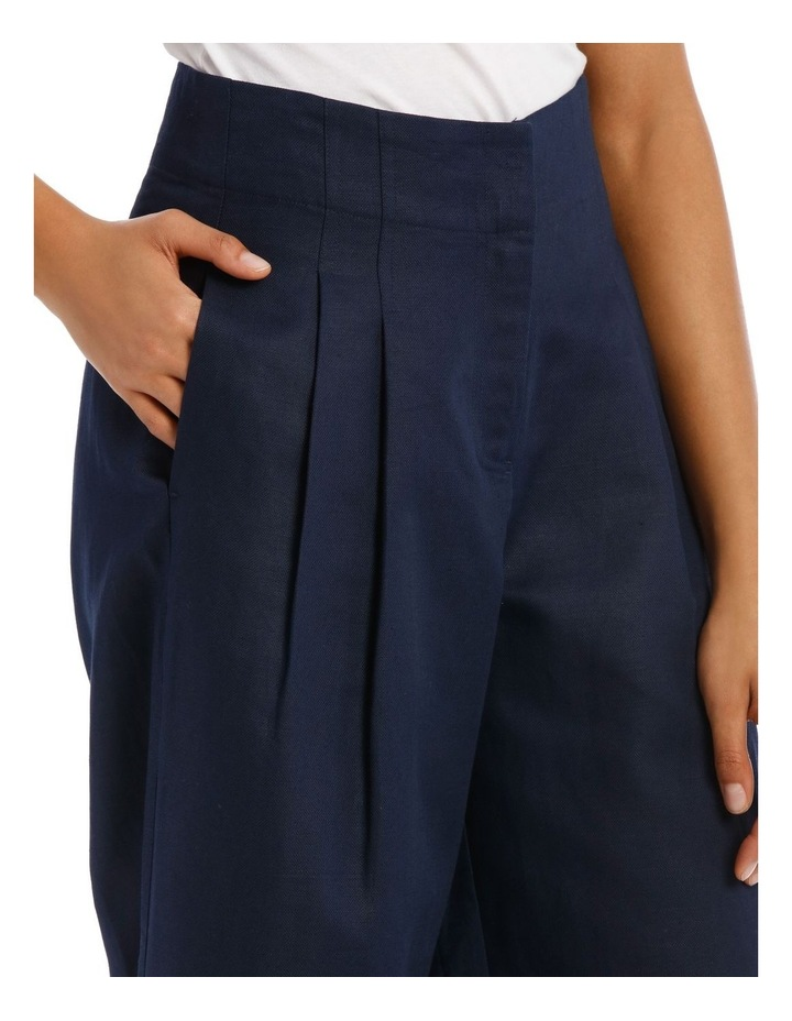 Fashion Wide Leg Pant With Pleat Front image 4