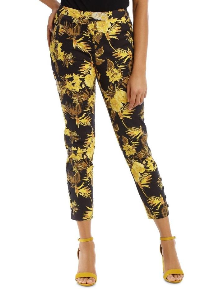 Tapered Leg Printed Fashion Pant image 1
