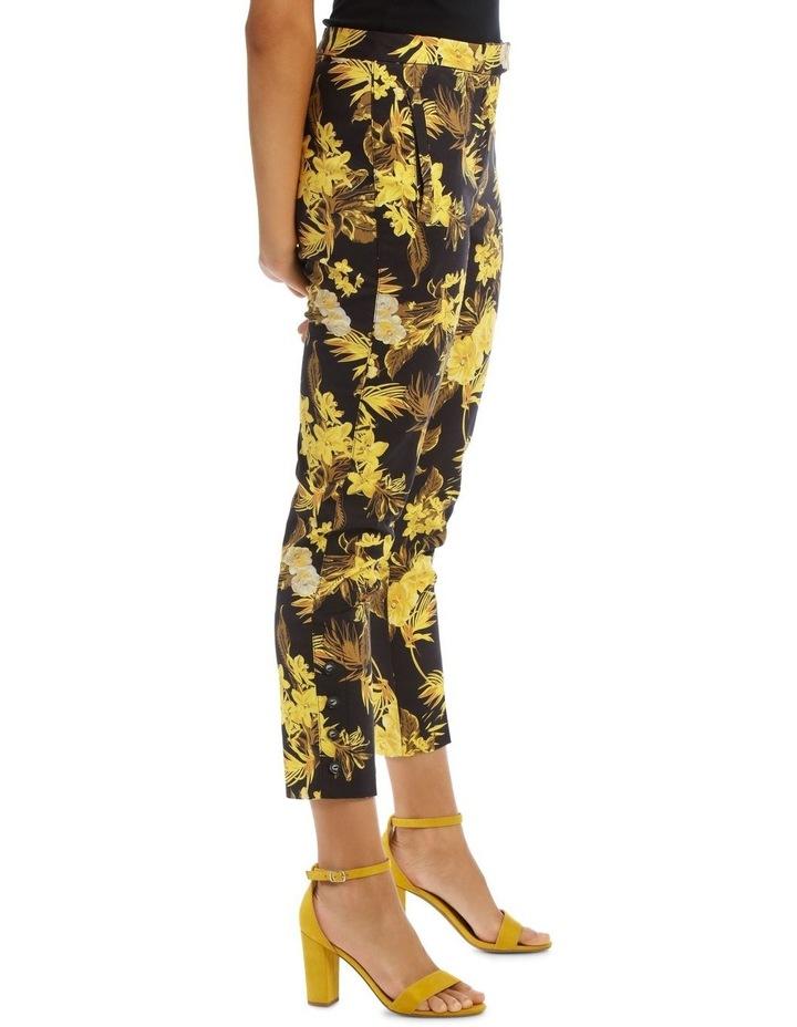 Tapered Leg Printed Fashion Pant image 2