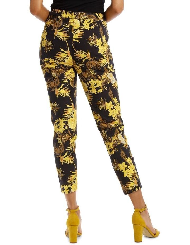 Tapered Leg Printed Fashion Pant image 3
