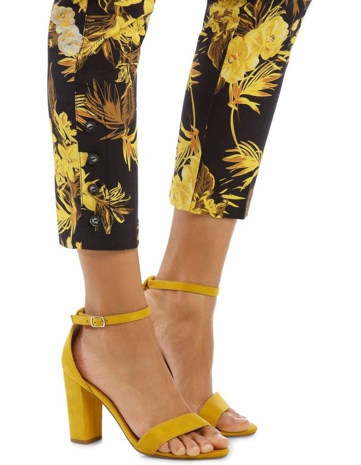 Tapered Leg Printed Fashion Pant image 5