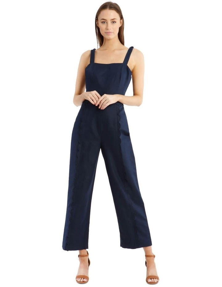 Jumpsuit With Scallop Edge image 1