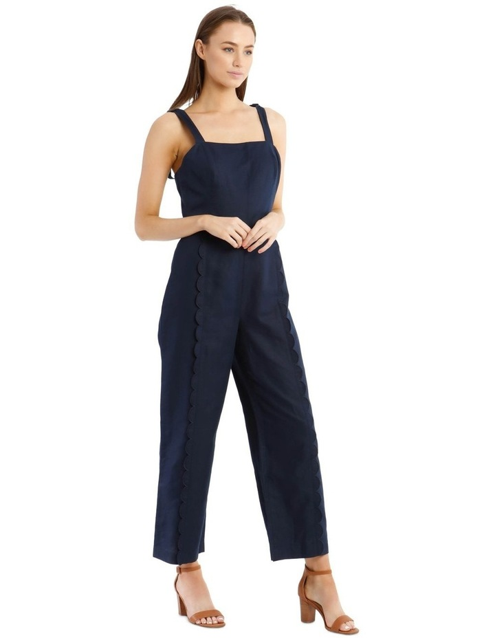Jumpsuit With Scallop Edge image 2