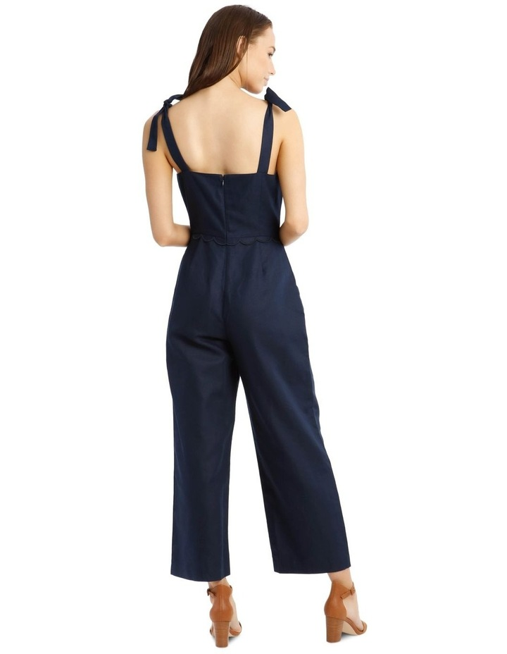 Jumpsuit With Scallop Edge image 3