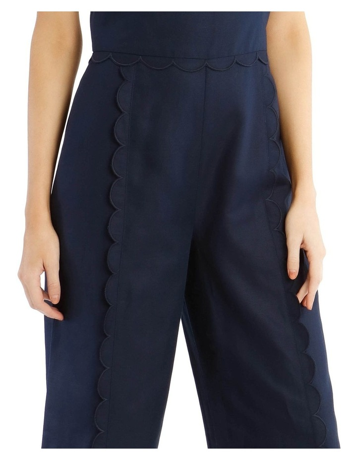 Jumpsuit With Scallop Edge image 4