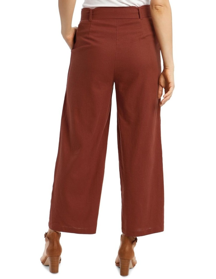 Full Length Pant With Belt And Buckle image 3