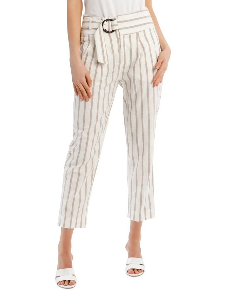 Stripe Pant With Buckle image 1