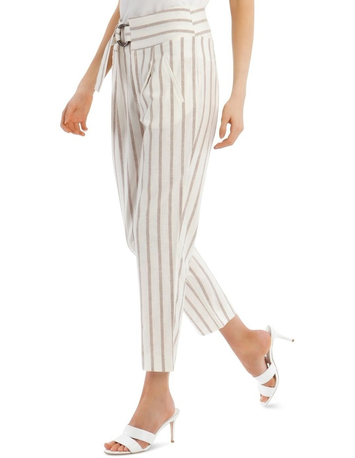 Stripe Pant With Buckle image 2