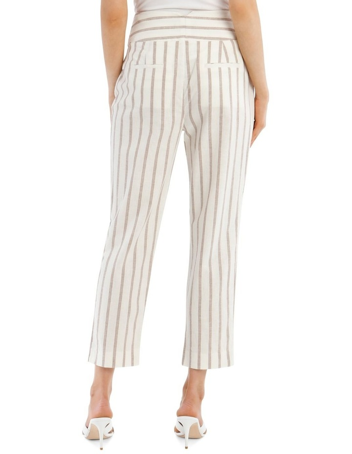 Stripe Pant With Buckle image 3