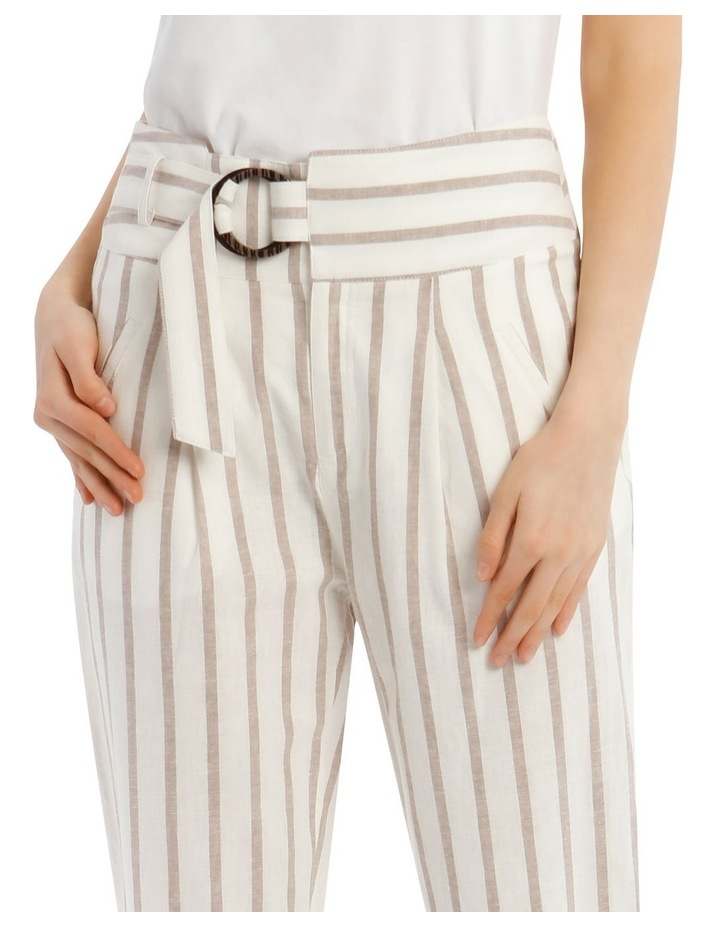 Stripe Pant With Buckle image 4