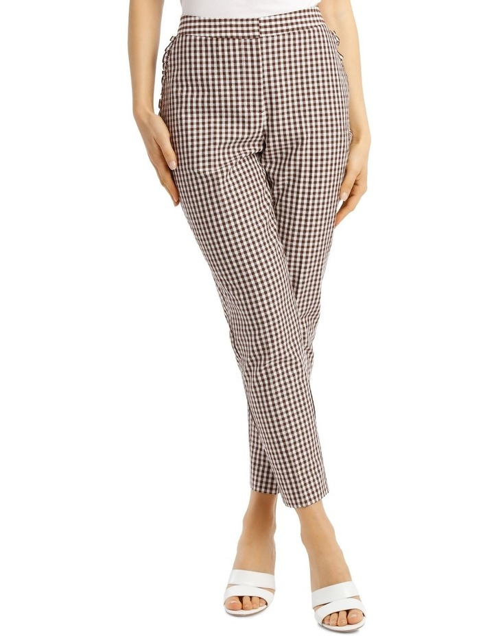 Pant With Frill Gingham image 1