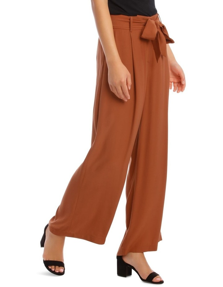 Wide Leg Pant With Belt image 2