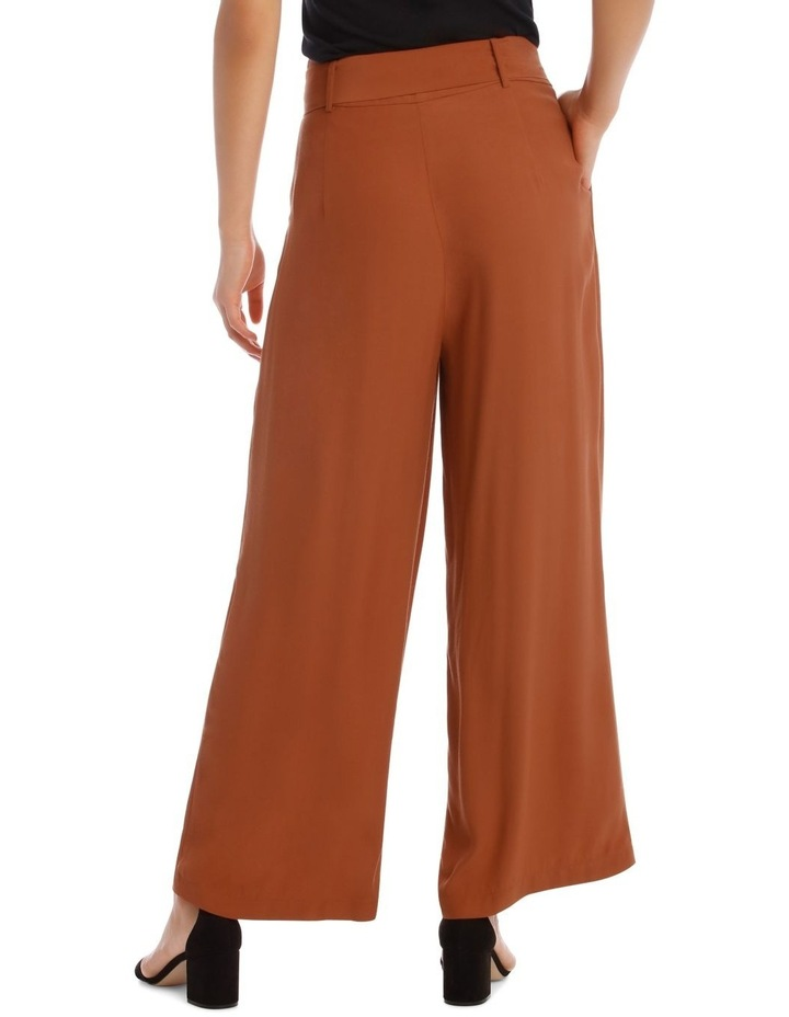 Wide Leg Pant With Belt image 3