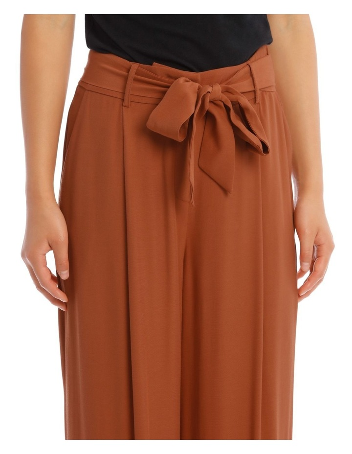 Wide Leg Pant With Belt image 4